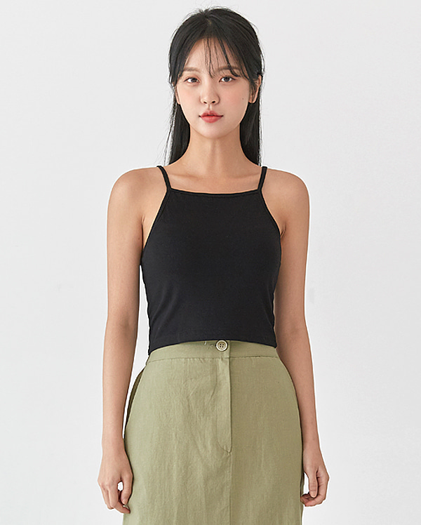 mini basic square sleeveless