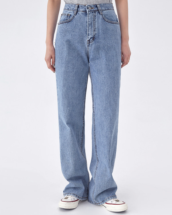 tempo denim pants (s, m, l)