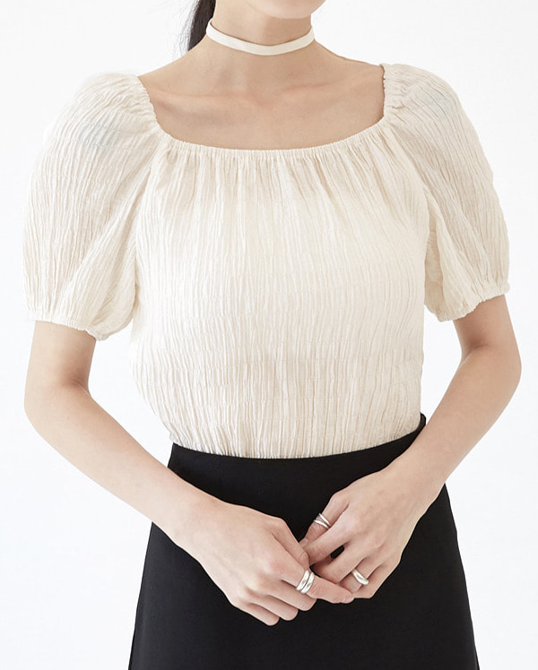 twinkle pleated blouse