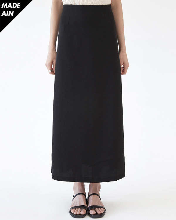 FRESH A long flare skirt