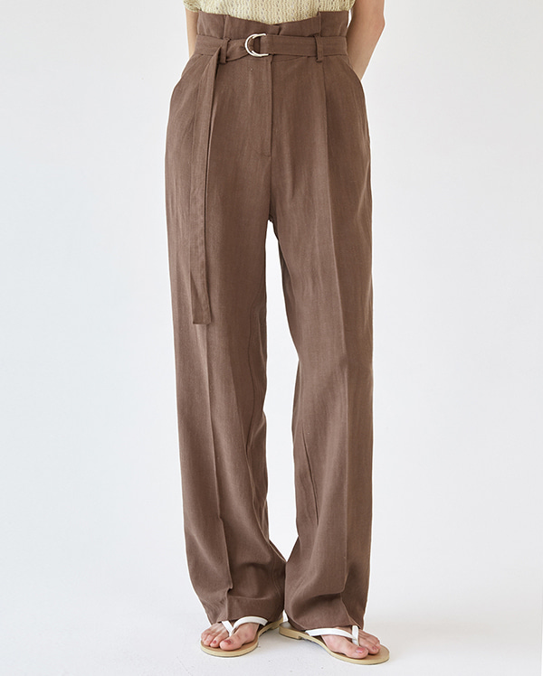 belt usual linen slacks (s, m)