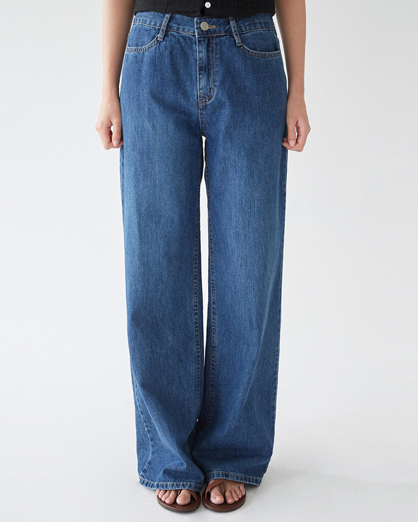 all wide denim pants (s, m, l)
