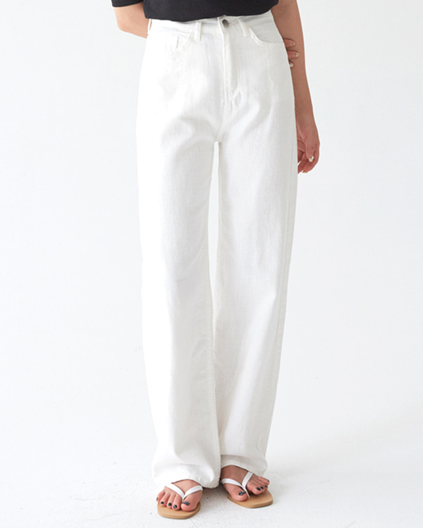 clean long straight pants (s, m, l)