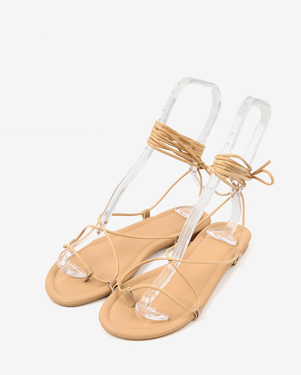 come basic strap sandal (225-250)