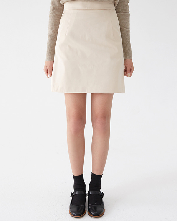 basic see mini skirt (s, m)