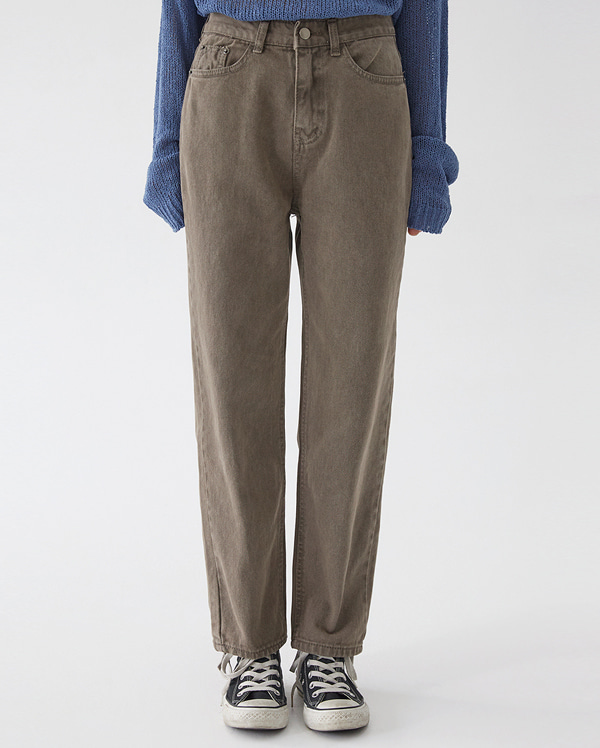 goofy unique straight pants (s, m, l)