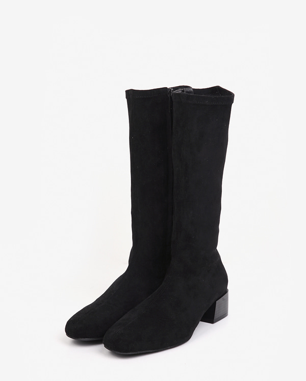 female half knee high boots (225-250)