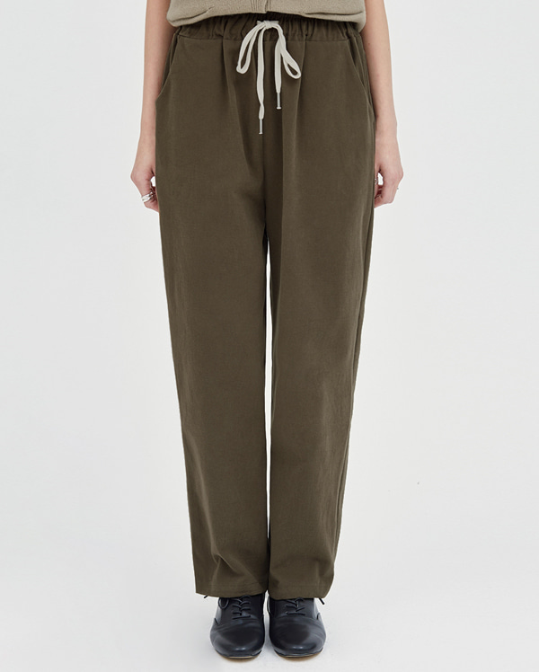 pitch natural banding pants