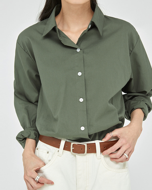 dean basic cotton shirts