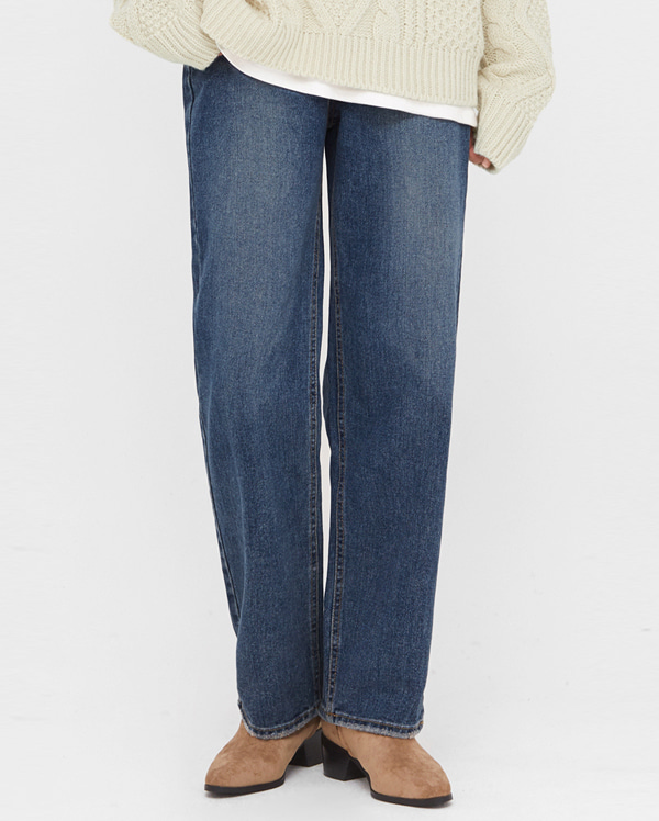 wiz napping denim pants (s, m, l)