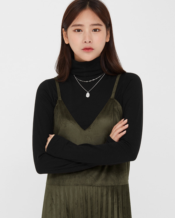 basic mood turtleneck T