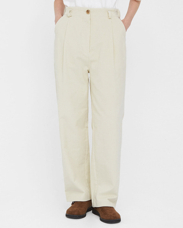 bear straight corduroy pants