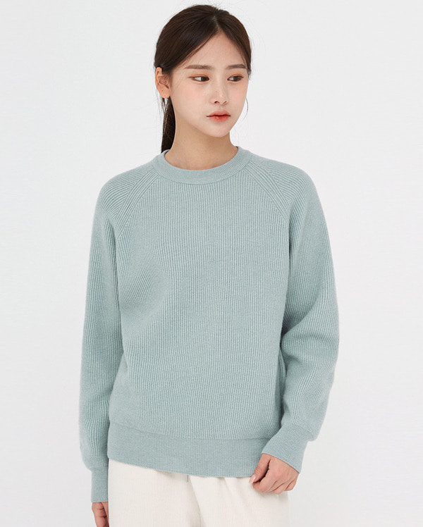 needed soft wool round knit