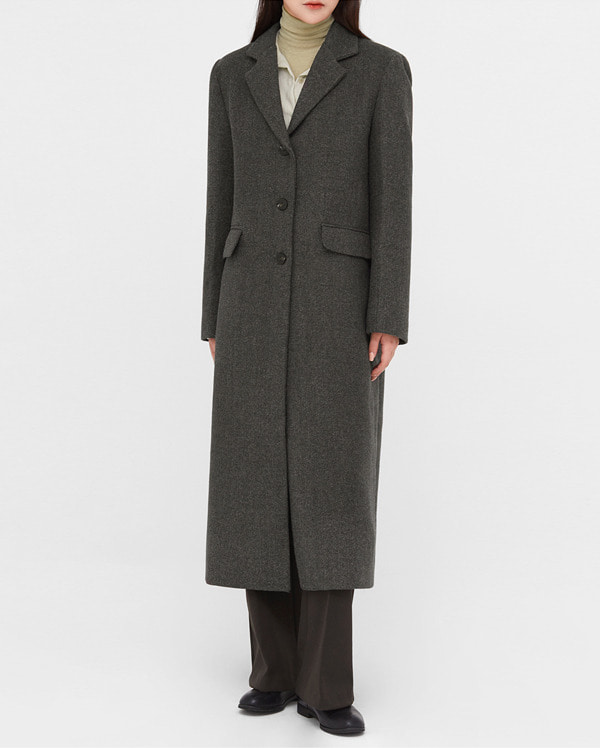 ami french tailored single coat