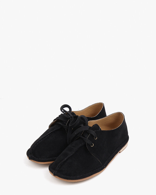 staying suede ribbon loafer (230-250)