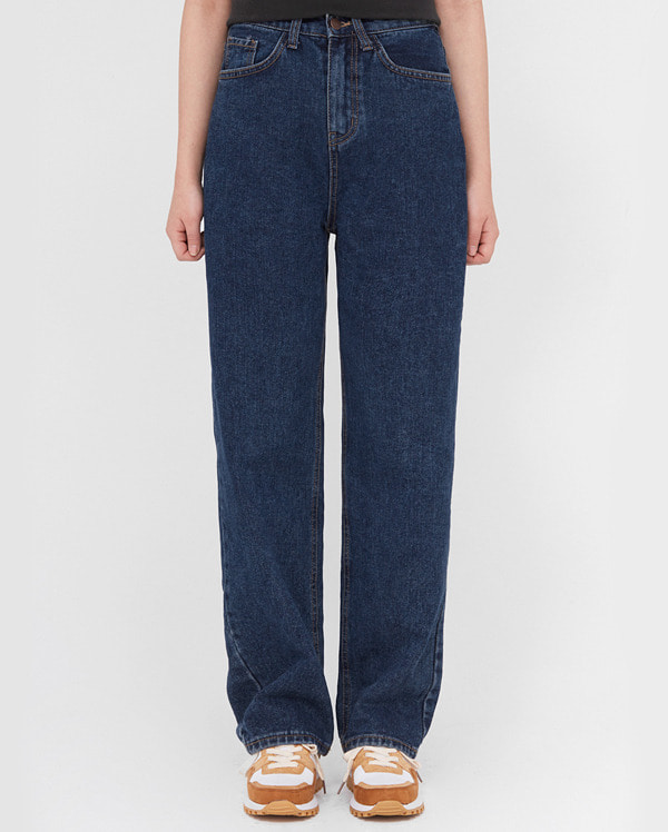 star wide denim pants (s, m, l)