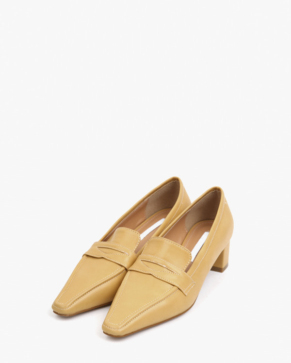 girlish mood heel loafer (225-250)