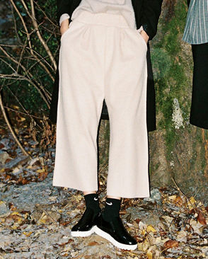 LB_modern wide pants (2colors)