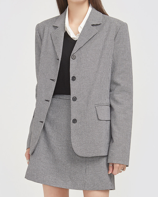 tommy button check jacket