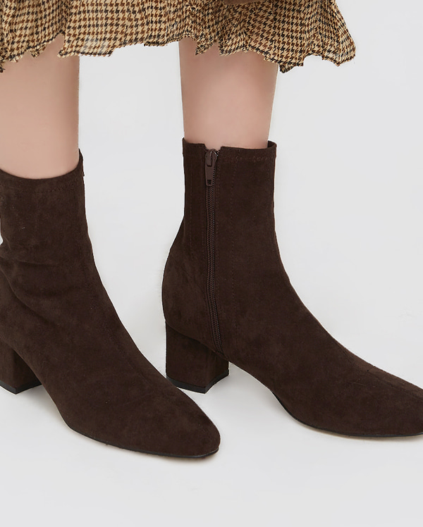 softy suede ankle boots (225-250)