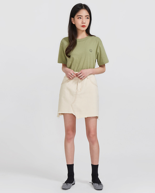 unbalance cutting skirt (s, m)