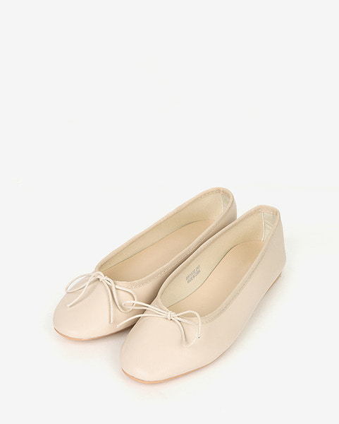 girlish mood ribbon flat (230-250)
