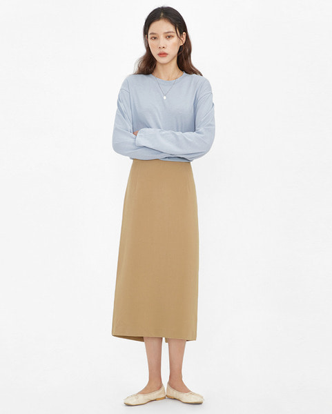 melting midi skirt (s, m)