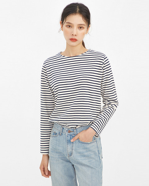 clean stripe pattern T