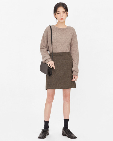 keeping wool basic knit