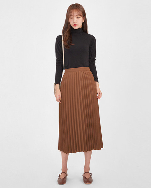 lora pleats skirt (s, m)