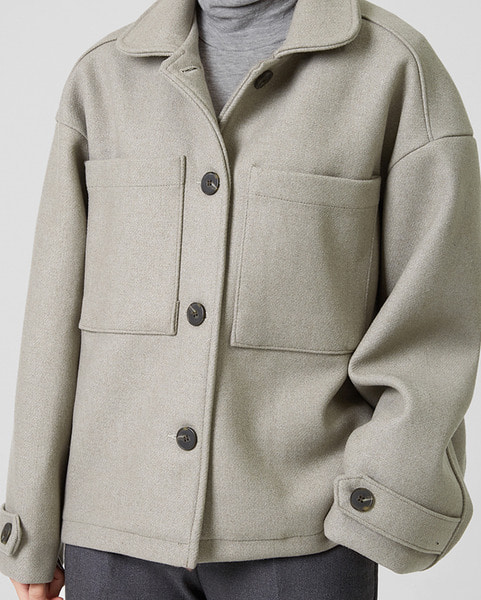 penny wool short jacket