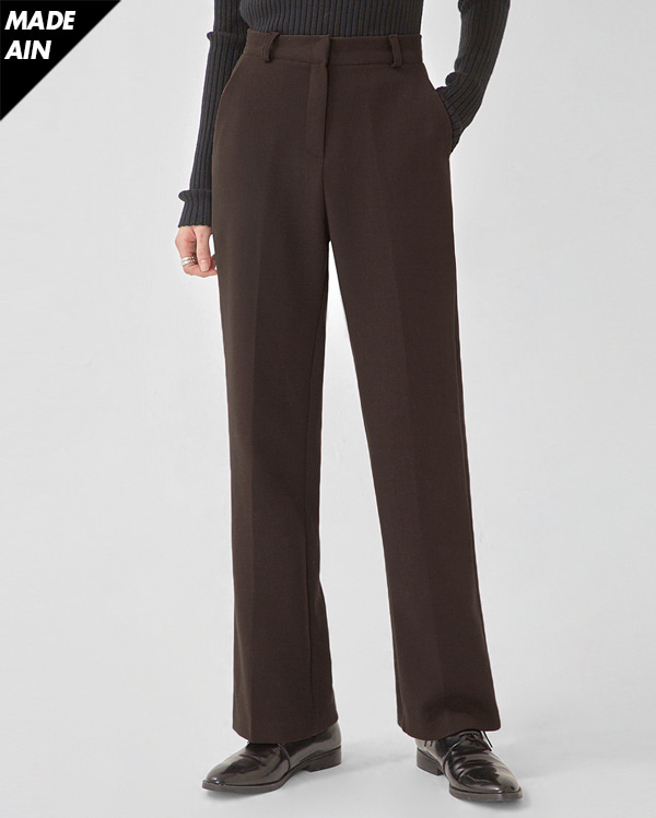FRESH A winter maxi slacks(s, m, l)