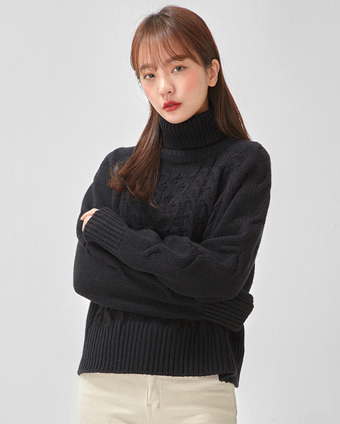 wool twist polar knit