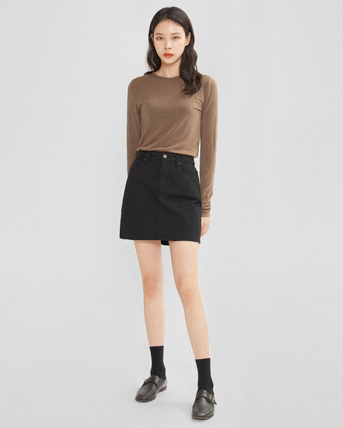 coach basic skirt (s, m)