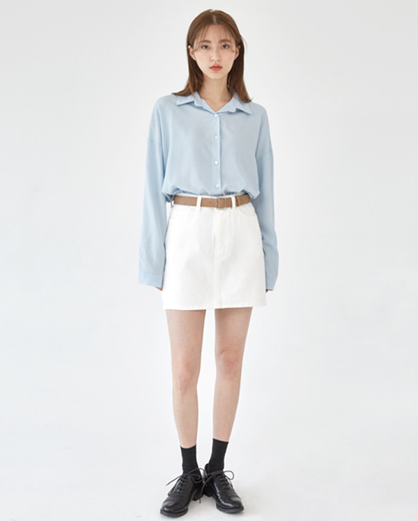 solve cotton mini skirts (s, m)