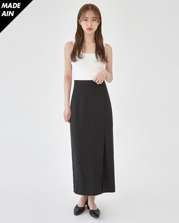 FRESH A long slit skirt (s, m)