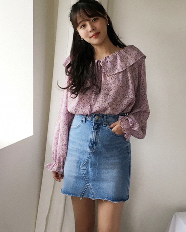 enjoy mini cutting skirt (s, m, l)