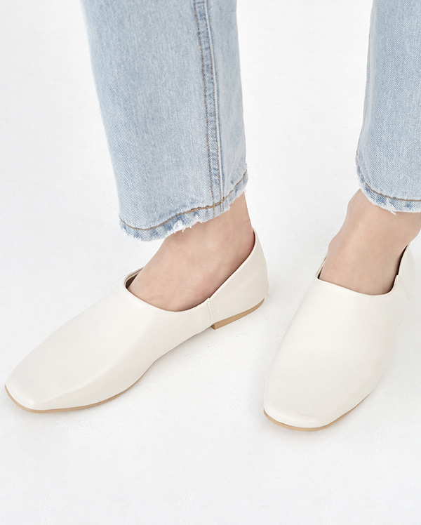 honey square flat shoes (230-250)