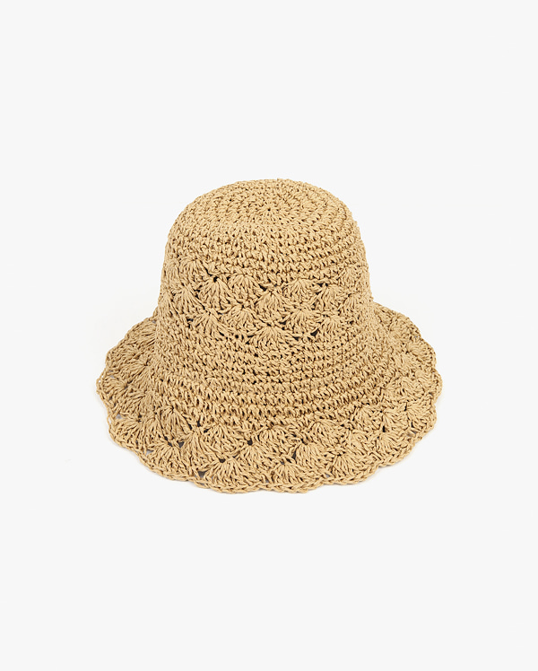 race straw hat
