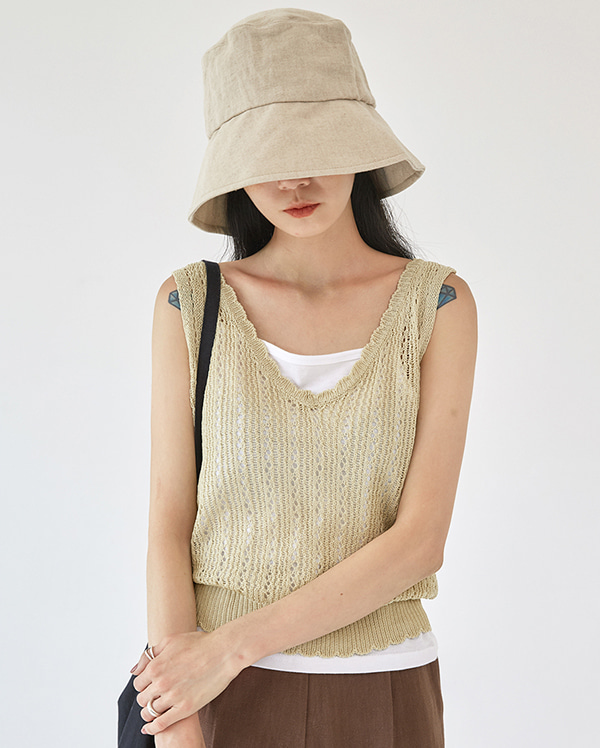 eddy knit sleeveless