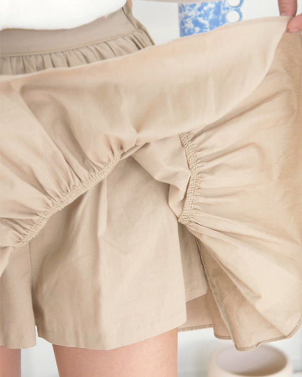 lovely flare culottes skirts