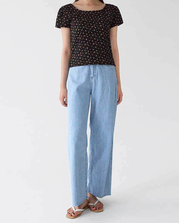 whole wide denim pants (s, m, l)