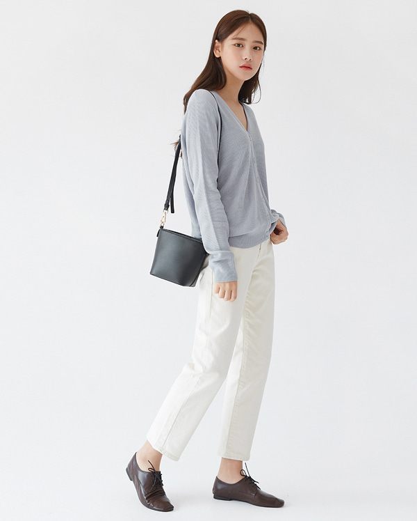 refined cotton pants (s, m, l)