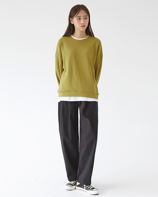 over plan wide pants (s, m)