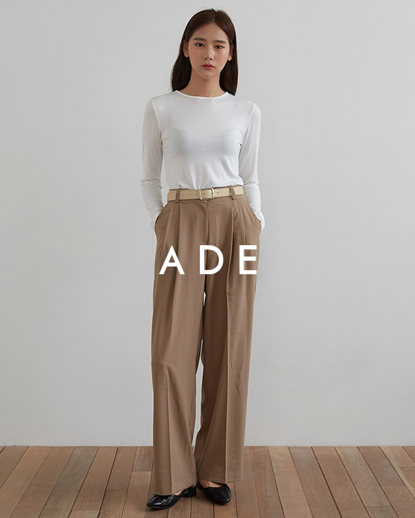chic mood pintuck slacks (s, m, l)