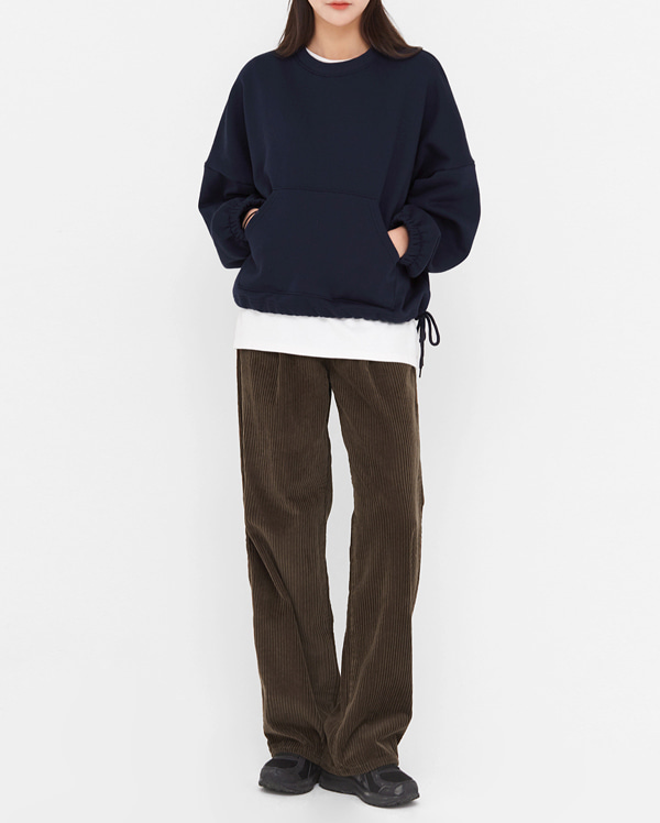 sandro corduroy cotton pants (s, m, l)