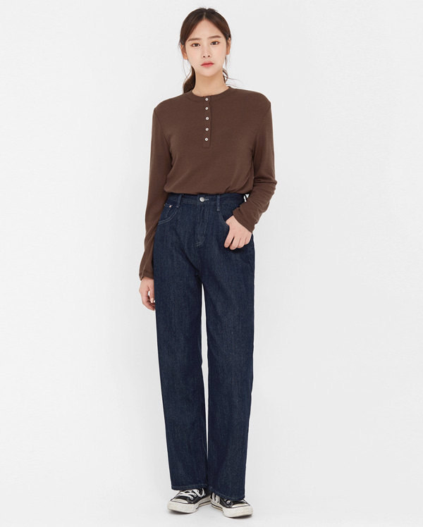 warm napping straight pants (s, m, l)
