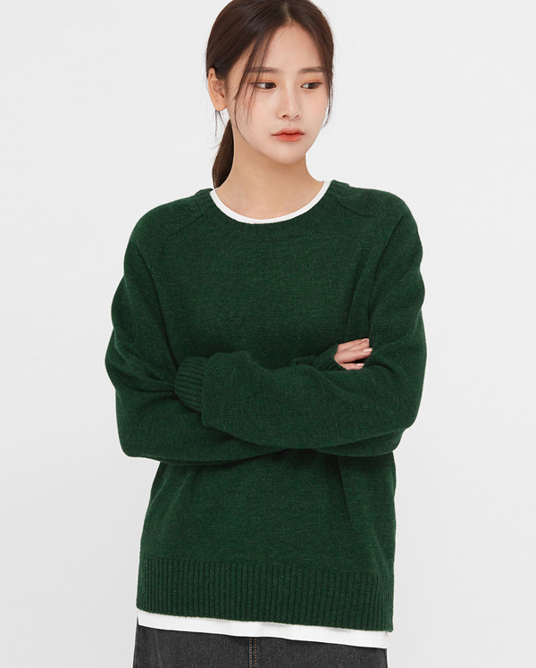 raco round colored knit