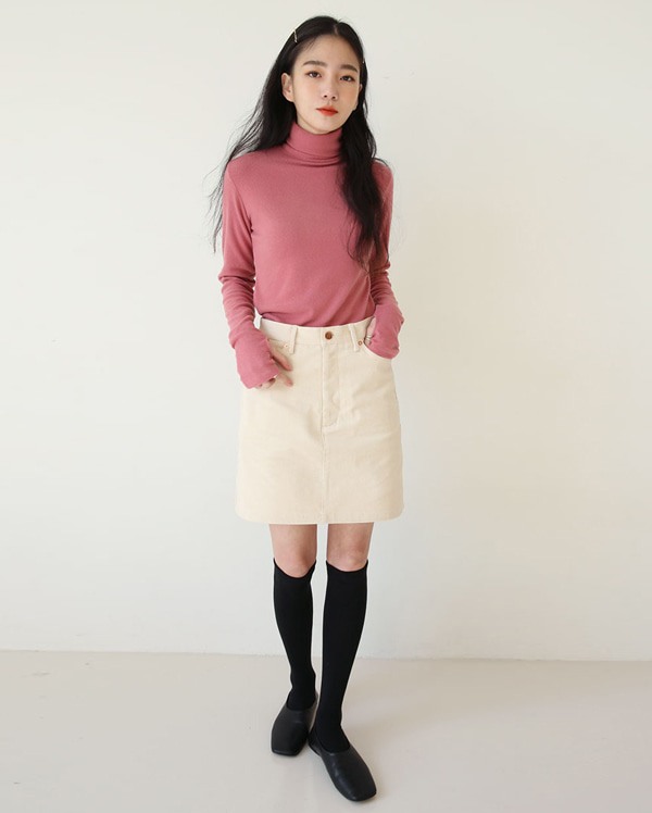 runa corduroy mini skirts (s, m)