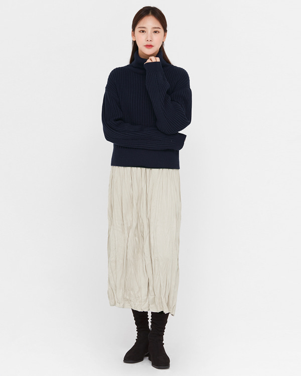 fore wrinkle suede skirts
